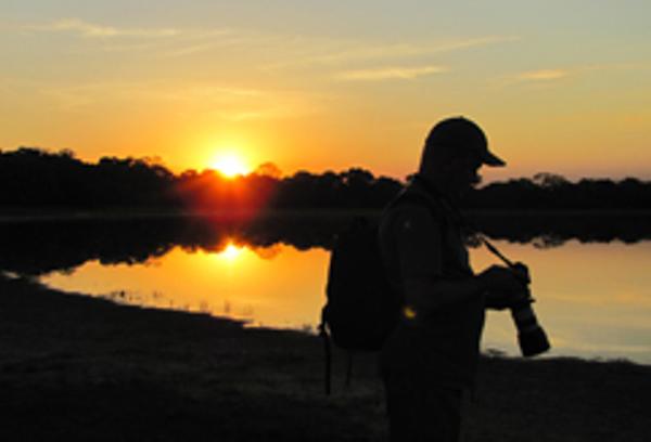 Pantanal Photographer Sunset
