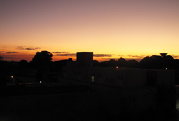 Sunset in Campo Grande