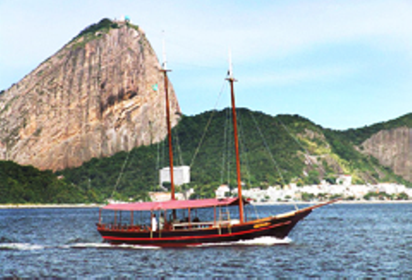 Boat in Guanabara Bay