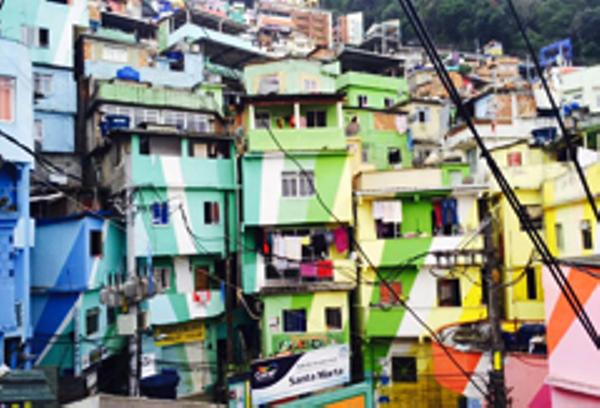 Rio Favela Santa Marta
