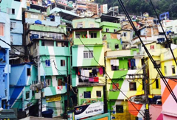 Rio, Santa Marta Favela