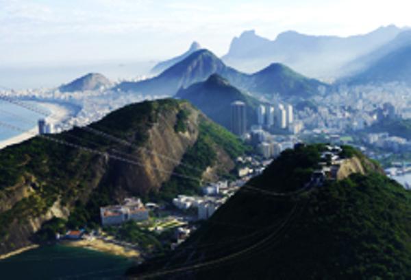 Rio, Sugarloaf Mountain view