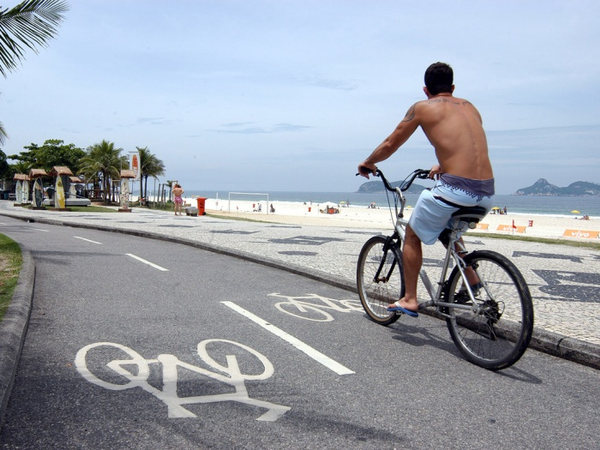 Ipanema by bike