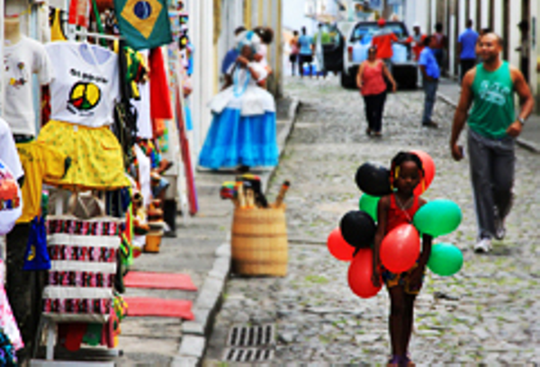 Little girl in Salvador