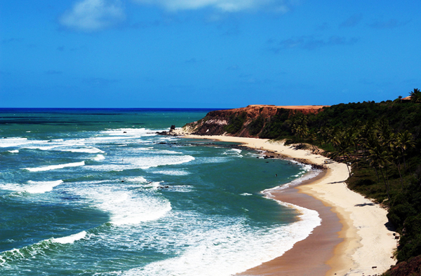 Pipa Beach in Natal, Nordeste