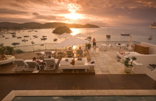 Terrasse du Casas Brancas Boutique Hotel & Spa