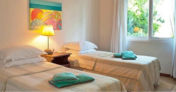 Chambre lits jumeaux, Casas Brancas