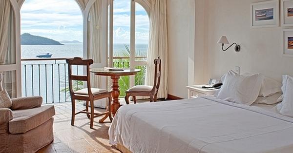 Chambre double classique avec vue sur la mer, Casas Brancas