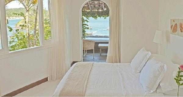 Chambre double supérieure vue sur la mer, Casas Brancas