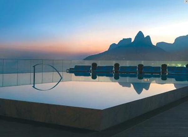 Piscine de l'hôtel Fasano Rio