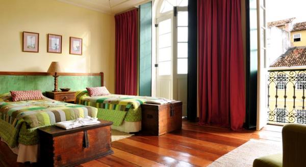 Chambre lits jumeaux, Villa Bahia