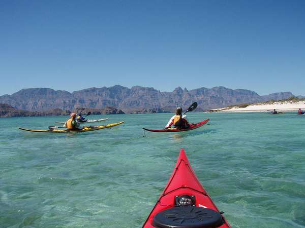 kayak sea of cortez