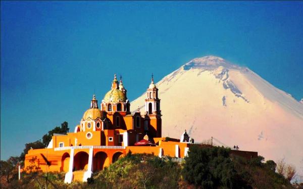 Church De los Remedios - Cholula