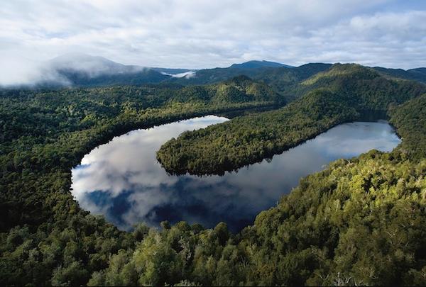 Gordon River en Tasmanie