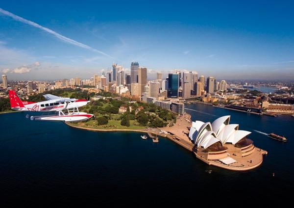 Survol de Sydney