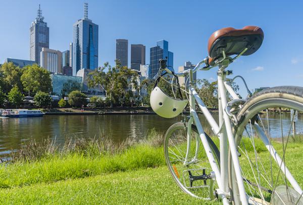 Vélo à Melbourne