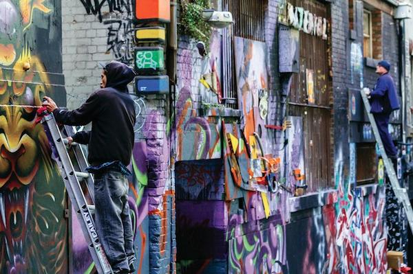 Street-art à Melbourne