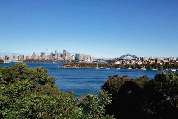Panorama de la baie de Sydney